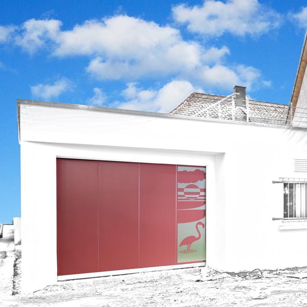 Porte de garage lat rale sposa a2p porte de garage anti effraction gypass - Porte de garage anti effraction ...